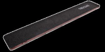 25 Vijlen recht breed zwart 180/240