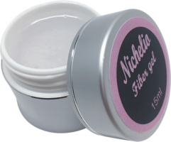 Nichelio fibergel 15 ml - CLEAR