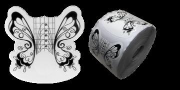 Form /sjablonen vlinder zwart/wit ROL