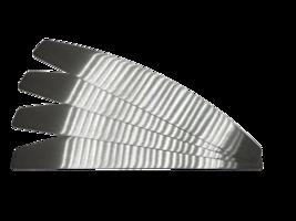 4 plakvijl metalen cores