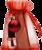 kerstgift rood - nagelriemolie met polijst vijltje