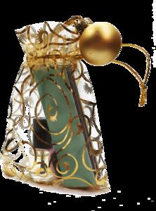 kerstgift goud - nagelriemolie met polijst vijltje