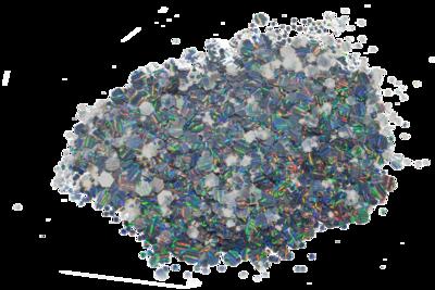 Multiglitter - G1 - zeshoekig
