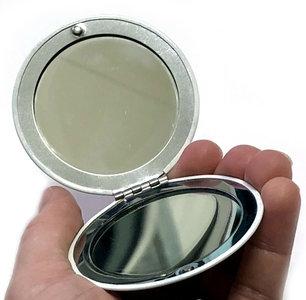 Kerst gift hand tas spiegel