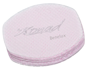 Polish remover cotton pink
