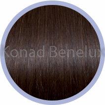 Hair extension Seiseta  32 Kastanje-mahonie bruin