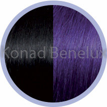 Hair extension Seiseta  1B/violet