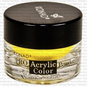 Konad acryl 07 yellow Geel