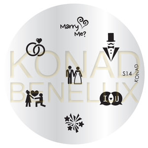 Konad Image Plate(Special)-14