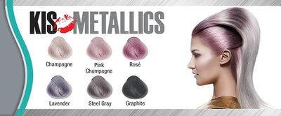 KIS  Metallic Collection Pink Champagne