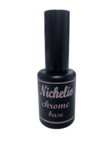 Soak off gel Nichelio - chrome base