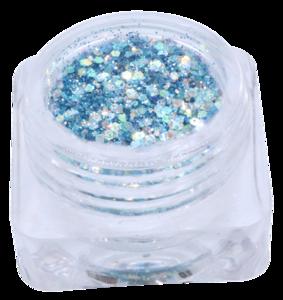 Hexagon glitter B29
