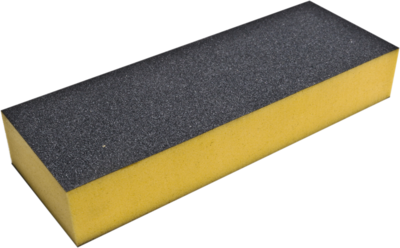 Bufferblok geel/grijs 240